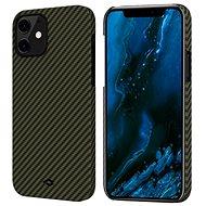 Pitaka MagEZ Black/Yellow iPhone 12 - Mobiltelefon hátlap