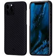 Pitaka MagEZ Black/Grey iPhone 12 Pro - Mobiltelefon hátlap