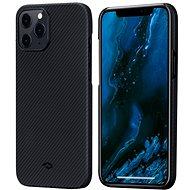 Pitaka Air Case Black/Grey iPhone 12 Pro Max - Mobiltelefon hátlap