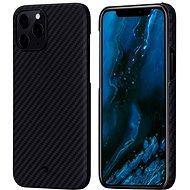 Pitaka MagEZ Black/Grey iPhone 12 Pro Max - Mobiltelefon hátlap