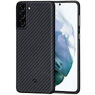 Pitaka MagEZ Case Black/Grey Galaxy S21 - Mobiltelefon hátlap