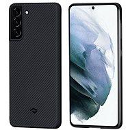 Pitaka Air Case fekete szürke Galaxy S21 - Mobiltelefon hátlap