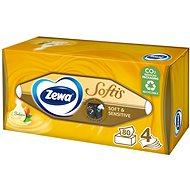 ZEWA Softis Soft & Sensitive BOX (80 db) - Papírzsebkendő