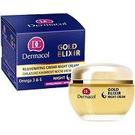 DERMACOL Gold Elixir Caviar Night Cream 50 ml - Arckrém