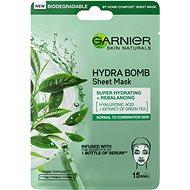 Arcpakolás GARNIER Moisture+ Freshness Super Hydrating & Purifying Tissue Mask 28 g - Pleťová maska
