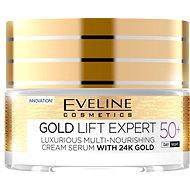 Arckrém EVELINE Cosmetics Gold Lift Expert Day&Night 50+ 50 ml - Pleťový krém