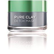 Arcpakolás L'ORÉAL PARIS Skin Expert Pure Clay - Detox Arcpakolás 50 ml - Pleťová maska