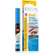EVELINE COSMETICS Eyebrow Th. Professional Corrector With Henna 8in1 10 ml - Korrektor