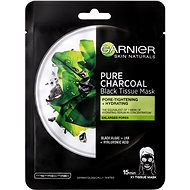 GARNIER Pure Charcoal Purifying & Hydrating Pore-Tightening Black Tissue Mask 28 g - Arcpakolás