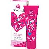 DERMACOL Love My Face Brigthening Care Rasberries & Forst Berries Scent 50 ml - Arckrém