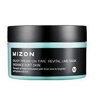 MIZON Enjoy Fresh-On Time Revital Lime Mask 100 ml - Arcpakolás