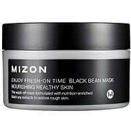 Arcpakolás MIZON Enjoy Fresh-On Time Black Been Mask 100 ml - Pleťová maska