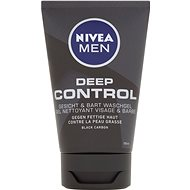 Tisztító gél NIVEA MEN Deep Clean Gel 100 ml - Čisticí gel