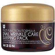 MIZON Snail Wrinkle Care Sleeping Pack 80 ml - Arcpakolás