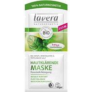 LAVERA Purifying Cleansing Mask Organic Mint 2× 5 ml