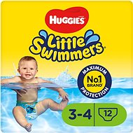 HUGGIES Little Swimmers 3/4 (12 db) - Úszópelenka