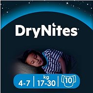 HUGGIES Dry Nites Medium 4-7 years Boys (10 db) - Pelenka