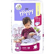 BELLA Baby Happy méretét. 5 Junior (58 db) - Pelenka