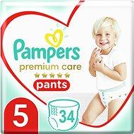 Pants PAMPERS Premium Care Pants Méret 5 Junior (34 db)