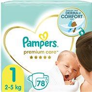 PAMPERS Premium Care 1-es méret, újszülött (78 db) - Pelenka