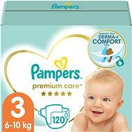 Pampers Premium Care 3-as méretben - 120 db, havi csomag - Pelenka