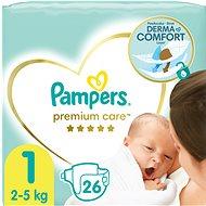 PAMPERS Premium Care 1-es méret/Newborn (26 db) - Pelenka