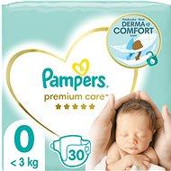 Pampers Premium Care 0-ás méretben (Newborn) - 30 db - Pelenka