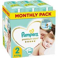 Pampers Premium Care 2-es méret Mini (240 db), havi kiszerelés - Pelenka