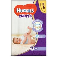 HUGGIES Pants Jumbo 3-as méretű nadrágpelenka - (44 db) - Bugyipelenka