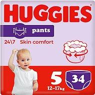 HUGGIES Pants Jumbo 5-ös méretű nadrágpelenka - (34 db) - Bugyipelenka
