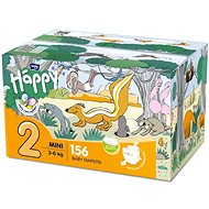 BELLA Baby Happy Mini doboz 2-es méret (156 db) - Pelenka