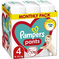 PAMPERS Pants 4 méret (176 db) - Pelenkanadrág