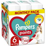 PAMPERS Pants méret 6 (132 db) - Pelenkanadrág