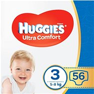 HUGGIES Ultra Comfort Jumbo, 3-as méret (56 db) - Pelenka