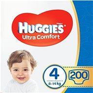 HUGGIES Ultra Comfort Jumbo, 4-es méret (200 db) - Pelenka