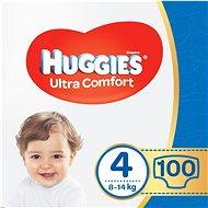 HUGGIES Ultra Comfort Jumbo 4-es méret (2 × 50 db) - Pelenka