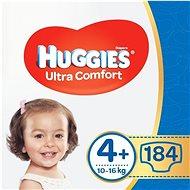 HUGGIES Ultra Comfort Jumbo, 4+-os méret (184 db) - Pelenka