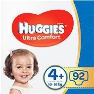 HUGGIES Ultra Comfort Jumbo méret 4+ (2 × 46 db) - Pelenka
