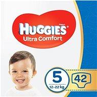 HUGGIES Ultra Comfort Jumbo, 5-ös méret (42 db) - Pelenka