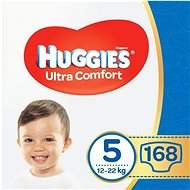 HUGGIES Ultra Comfort Jumbo, 5-ös méret (168 db) - Pelenka