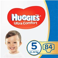 HUGGIES Ultra Comfort Jumbo méret 5 (2 × 42 db) - Pelenka