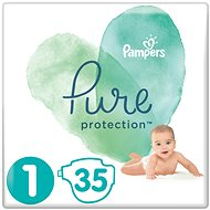 PAMPERS Pure Protection, 1-es méret (35 db) - Pelenka