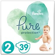 PAMPERS Pure Protection, 2-es méret (39 db) - Pelenka