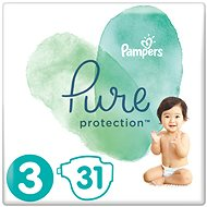 PAMPERS Pure Protection, 3-as méret (31 db) - Pelenka