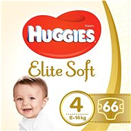 HUGGIES Elite Soft, 4-es méret (66 db) - Pelenka