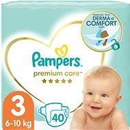 PAMPERS Premium Care, 3-as méret (40 db) - Pelenka
