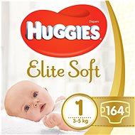HUGGIES Elite Soft 1-es méret (2 × 82 db)