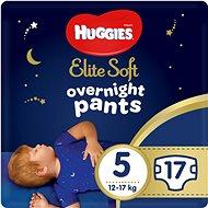 HUGGIES Elite Soft Pants éjszakai bugyi, 5-ös méret (17 db) - Bugyipelenka