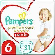 PAMPERS Pants Premium Care Extra Large 6-os méret (31 db)