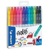 PILOT Frixion Colors 0.39 - 0.7mm, 12 színű szett - Marker